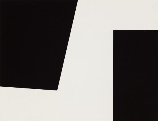 Sans titre, sérigraphie, 60 x 74 cm, éd. de 68, Fondation Guido Molinari, © SODRAC Photo : Guy L'Heureux