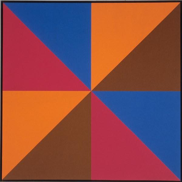Guido Molinari, Sans titre, 1970, acrylique sur toile
