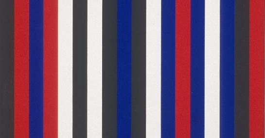 Sans titre, 1966, acrylique sur toile, 183 cm x 152,4, coll. Fondation Guido Molinari, © SODRAC Photo : Guy L'Heureux
