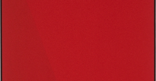 Quantificateur rouge, 1986-1988, acrylique sur toile, 198 cm x 183, coll. Fondation Guido Molinari, © SODRAC Photo : Guy L'Heureux