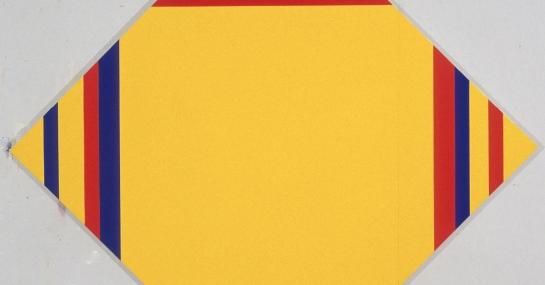 Sans titre, 1998, acrylique sur toile, 282 cm x 282, coll. Fondation Guido Molinari, © SODRAC Photo : Guy L'Heureux