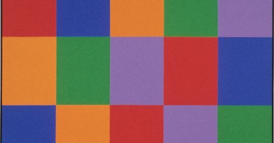Structure # 2, 1969, acrylique sur toile, 292,2 cm x 231,5, Fondation Guido Molinari, © SODRAC Photo : Guy L'Heureux