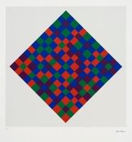 Untitled, 1998, silkscreen, ed.30, 81,5 x 76,3 cm